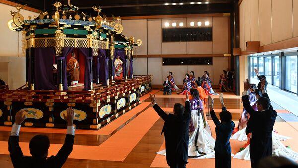 諸外国から来賓到着 徳仁天皇陛下の「即位礼正殿の儀」はどうように行われたか - Sputnik 日本