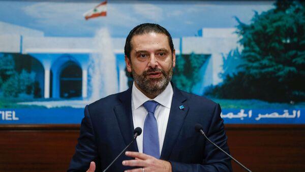 レバノンのハリーリー首相 - Sputnik 日本
