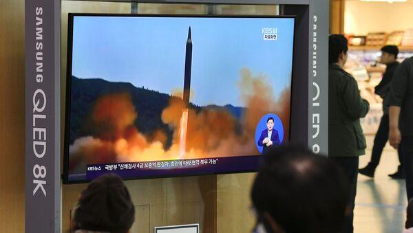 北朝鮮によるミサイル発射についての通知 - Sputnik 日本
