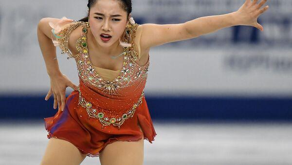 ロシア女子はみんなライバル 樋口新葉選手の記者会見 - Sputnik 日本