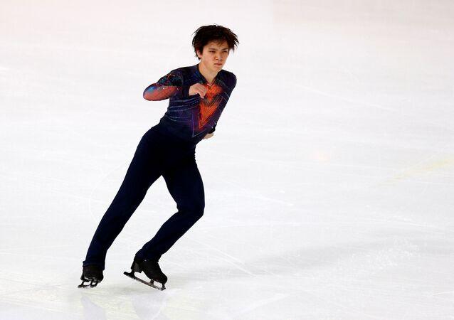 日本の宇野昌磨選手