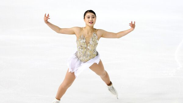 白岩優奈選手 - Sputnik 日本