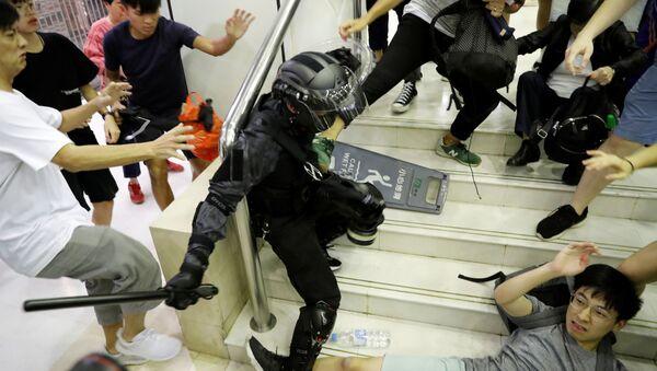 香港 デモ - Sputnik 日本