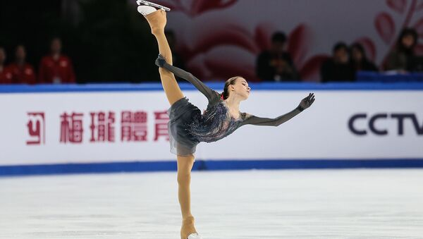 Анна Щербакова на Cup of China 2019 - Sputnik 日本