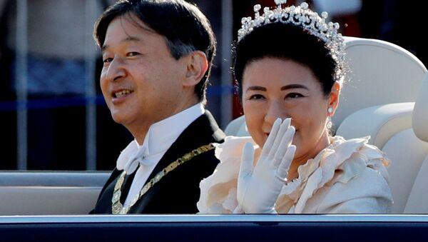 祝賀御列の儀にて 天皇皇后両陛下 東京 - Sputnik 日本