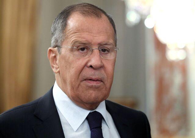 セルゲイ・ラブロフ外相