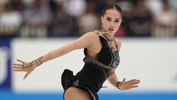 ロシアのアリーナ・ザギトワ選手 - Sputnik 日本