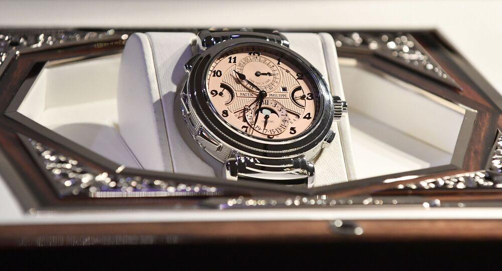 世界で一番高い腕時計