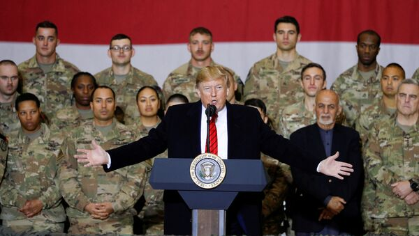トランプ大統領 予告なしにアフガンを初訪問 - Sputnik 日本