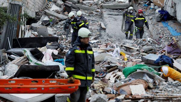 アルバニア地震 - Sputnik 日本