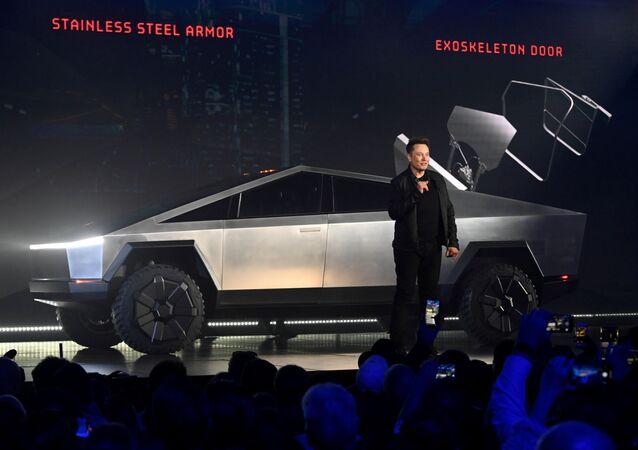「Tesla Cybertruck」