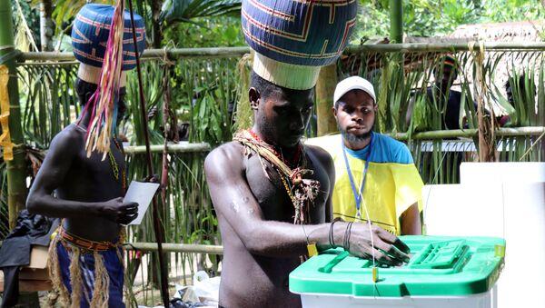 ブーゲンビル島でパプアニューギニアからの独立について国民選挙を実施  - Sputnik 日本