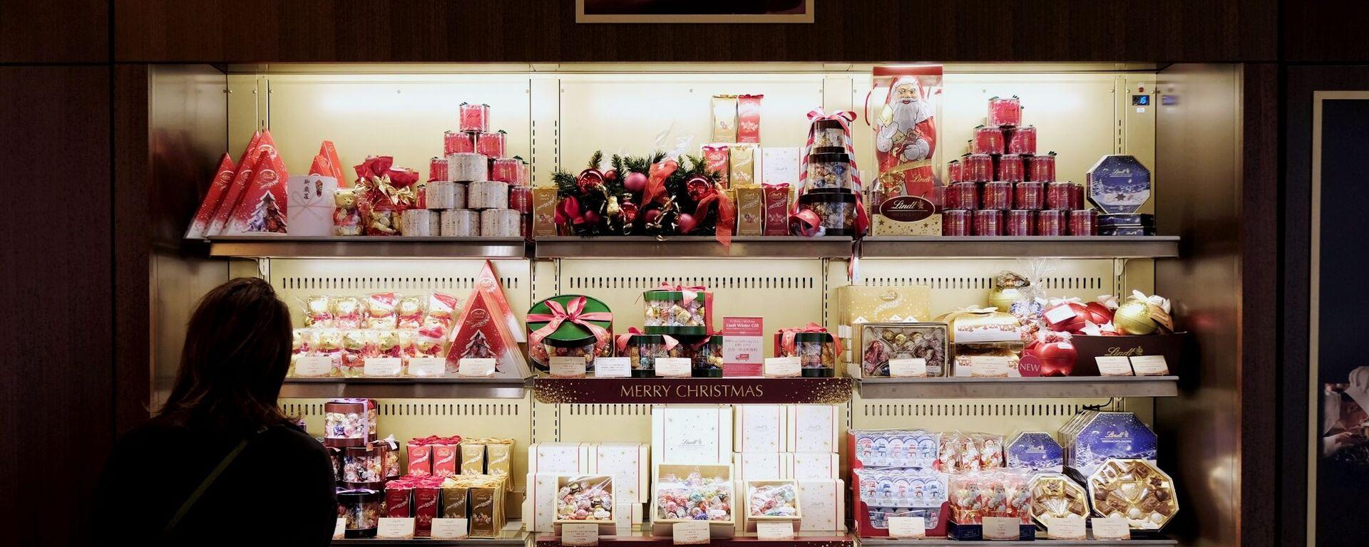 クリスマス用のプレゼントが並ぶ東京の店舗 - Sputnik 日本, 1920, 31.07.2020