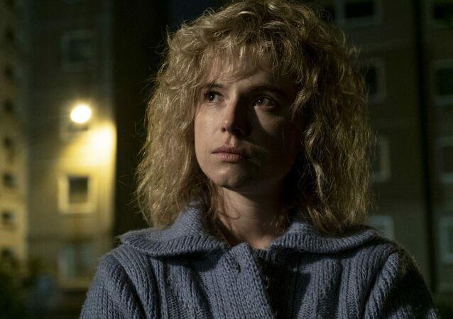 テレビドラマ「チェルノブイリ」でリュドミラ役を演じた女優ジェシー・バックリー