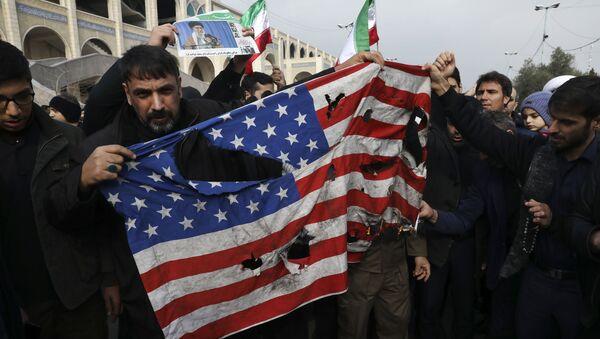 イラン、数千人がソレイマニ司令官殺害に抗議(1月3日) - Sputnik 日本
