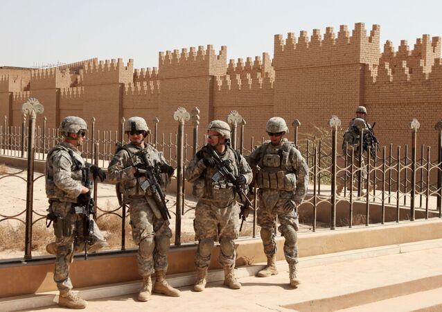 イラクのNATO軍人