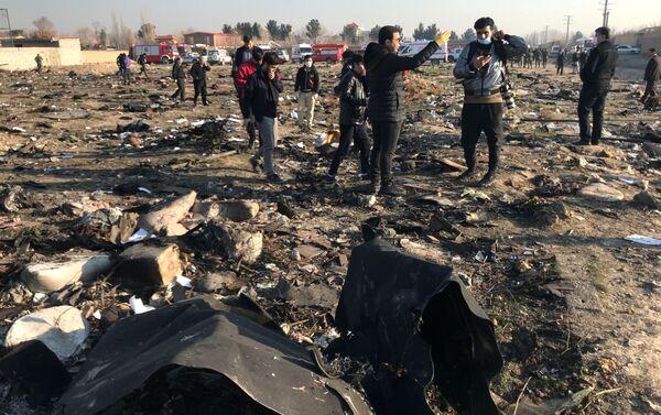 イランのウクライナ機墜落現場 - Sputnik 日本