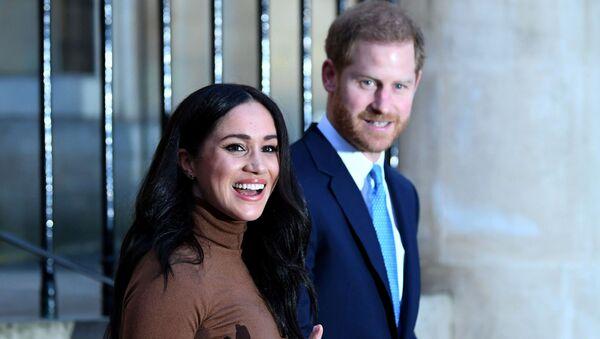 ヘンリー王子とメーガン妃 - Sputnik 日本