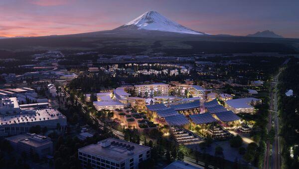 富士山の麓にスマート都市 - Sputnik 日本