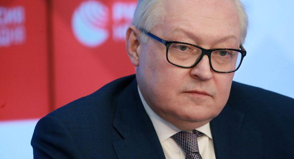 ロシア外務省のセルゲイ・リャブコフ次官