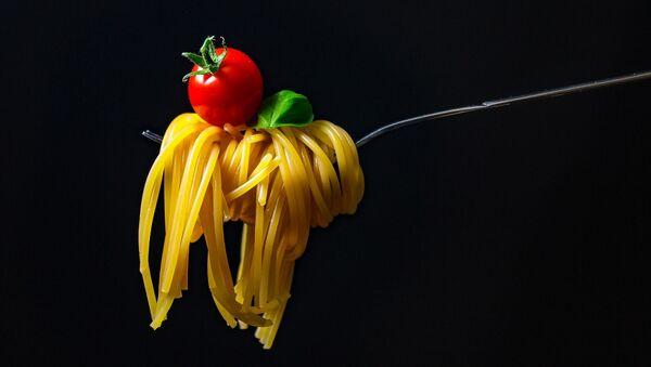 Спагетти на вилке - Sputnik 日本