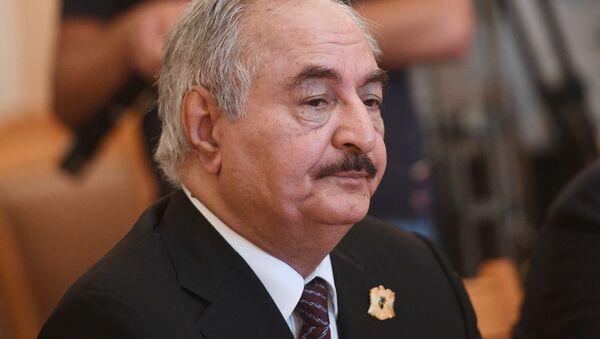 ハフタル陸軍元帥、リビア休戦協定に署名せず - Sputnik 日本