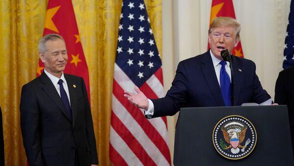 中国、「第1段階」合意の枠内で米製品の購入を2000億ドル増加 - Sputnik 日本