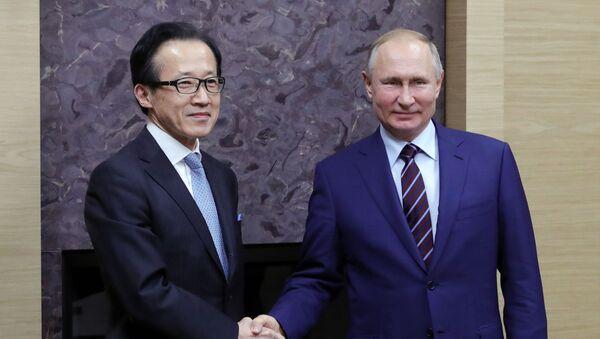 プーチン大統領と北村滋国家安全保障局長 - Sputnik 日本