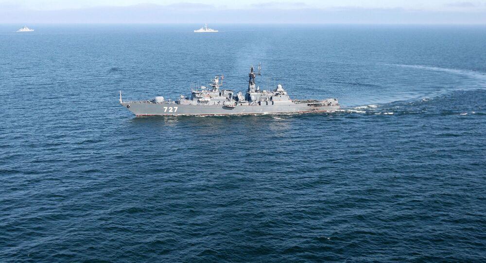 巡視船「ヤロスラフ賢公」(アーカイブ写真)