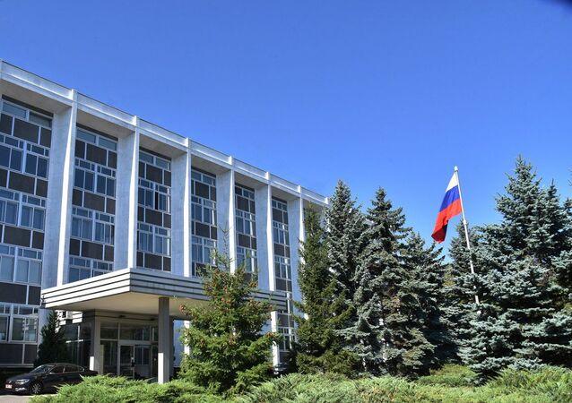 在ブルガリアロシア大使館