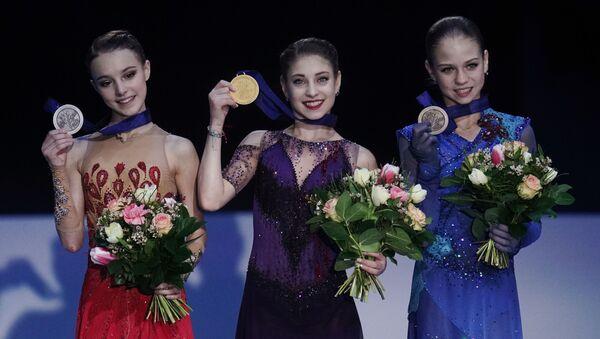 欧州フィギュアスケート選手権 ベスト3にロシア選手 アリョーナ・コストルナヤが優勝 - Sputnik 日本