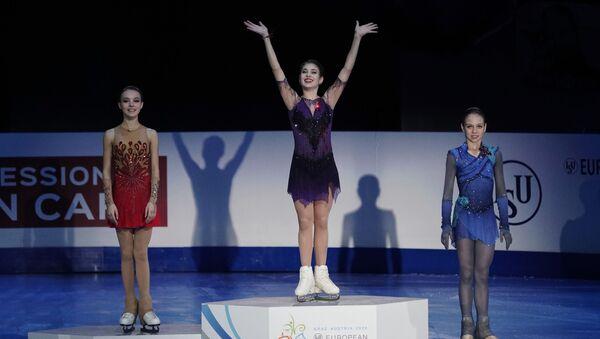 女子シングルのロシアの弱年選手 - Sputnik 日本