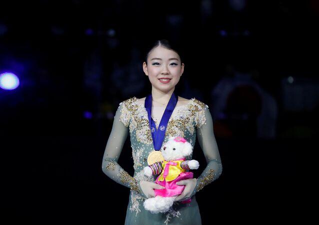 四大陸女子は紀平梨花選手が優勝 232.34点