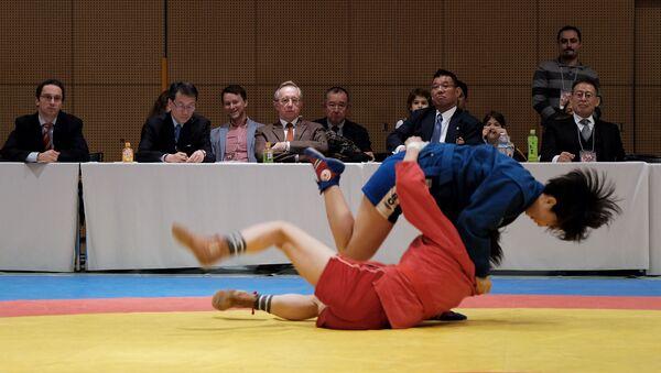 プーチン露大統領杯全日本サンボ選手権 - Sputnik 日本