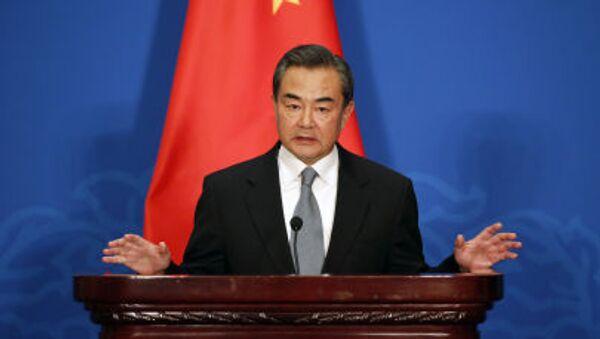 日本の南シナ海対応が「中国を失望させた」と中国の王毅外相 - Sputnik 日本