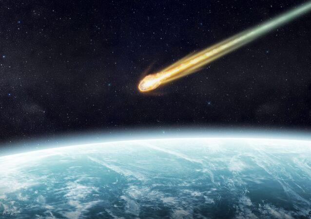 「空中の振動」:ノルウェーに巨大隕石が落下