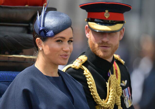 メーガン・マークル妃とヘンリー王子(アーカイブ写真)