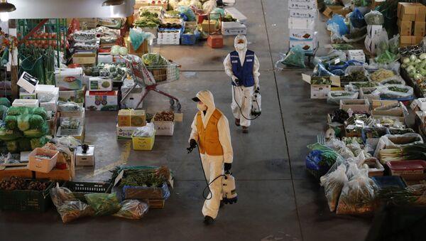 新型コロナウイルス 韓国で感染者はほぼ9千人 - Sputnik 日本