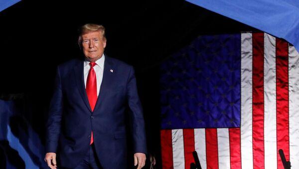 Предвыборный митинг президента США Дональда Трампа в Северной Каролине - Sputnik 日本