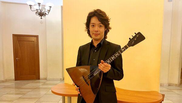 バラライカ奏者・北川翔さん  - Sputnik 日本