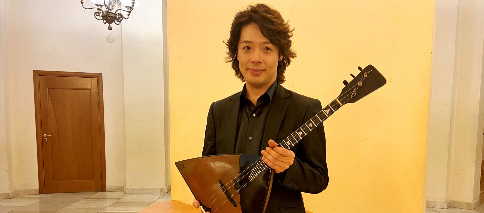 バラライカ奏者・北川翔さん  - Sputnik 日本, 1920, 16.03.2020
