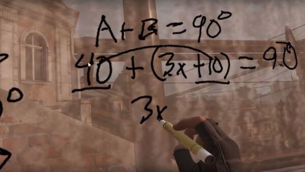 Преподаватель из Сан-Диего Чарльз Кумбер провел для семиклассников урок по геометрии при помощи игры Half-Life: Alyx - Sputnik 日本