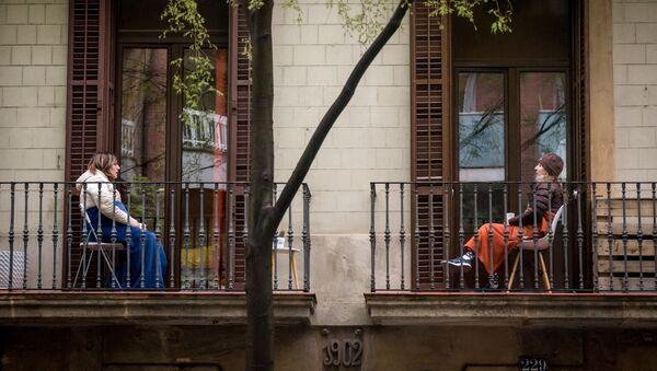 バルセロナ 女性 - Sputnik 日本
