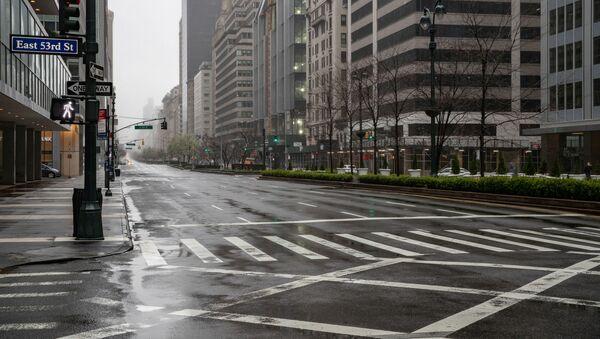 人のない検疫のニューヨーク - Sputnik 日本