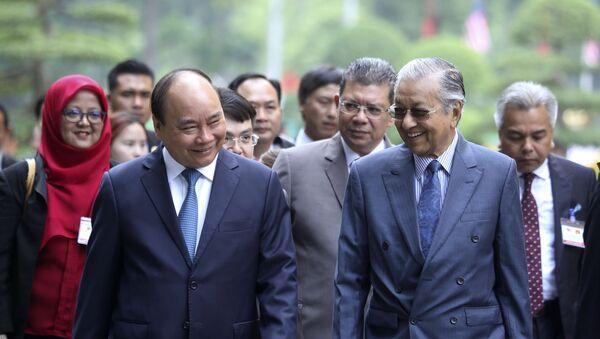 ベトナムのグエン・スアン・フック首相とマレーシア のマハティール・ビン・モハマド首相 - Sputnik 日本