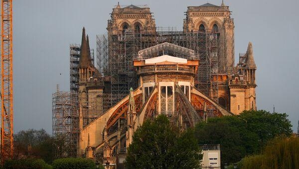 Работы по восстановлению собора Нотр-Дам, Париж - Sputnik 日本