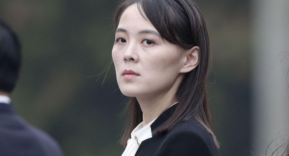 北朝鮮の金正恩氏 妹