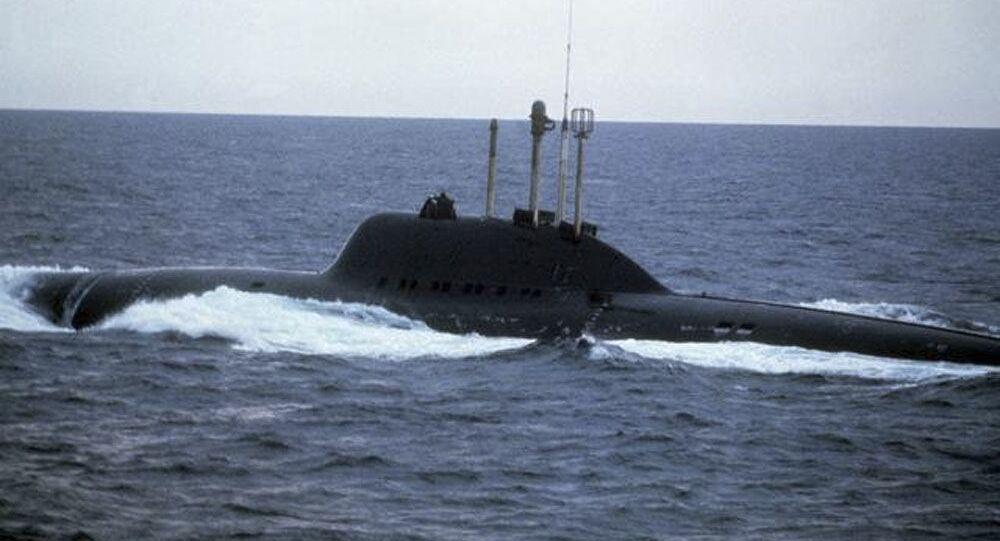 705型潜水艦「リーラ」