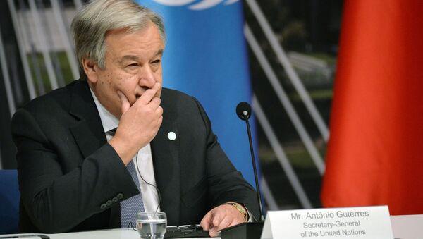国連 アントニオ グテーレス事務総長 - Sputnik 日本