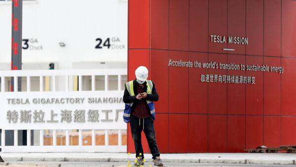 上海のテスラ工場 - Sputnik 日本